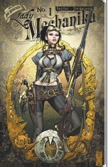Couverture de l'album Lady Mechanika - 1. Le mystère du corps mécanique