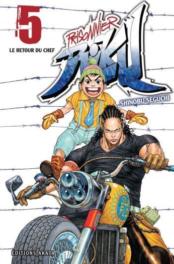 Couverture de l'album Prisonnier Riku - 5. Le Retour du chef