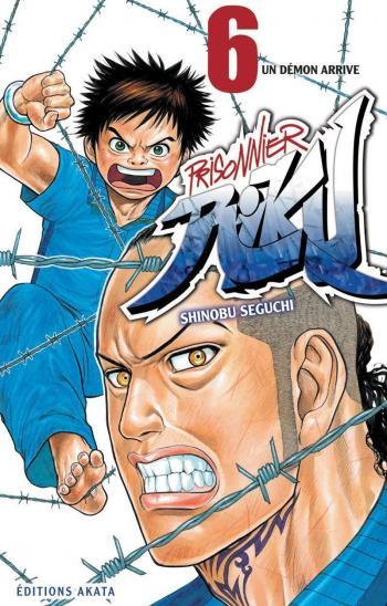 Couverture de l'album Prisonnier Riku - 6. Un Démon arrive