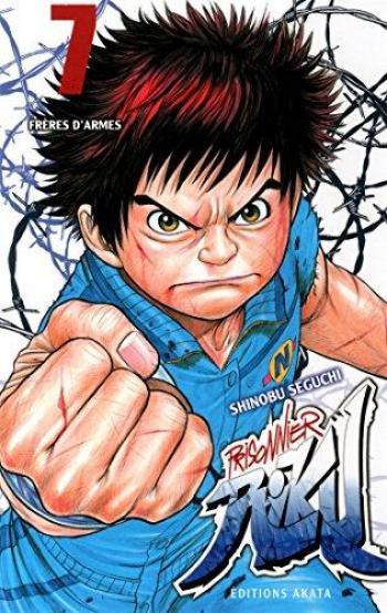 Couverture de l'album Prisonnier Riku - 7. Frères d'armes