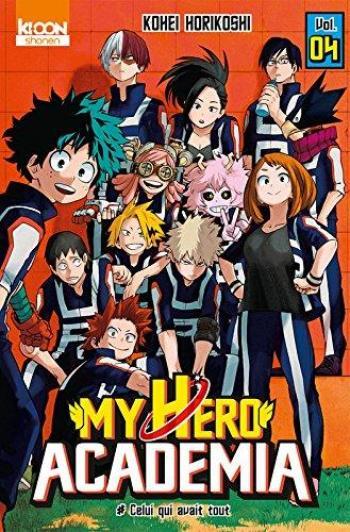 Couverture de l'album My Hero Academia - 4. Celui qui avait tout