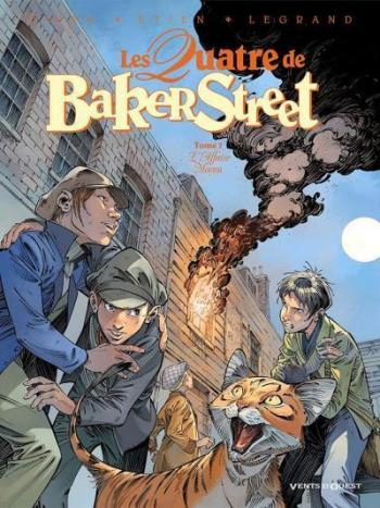 Couverture de l'album Les Quatre de Baker Street - 7. L'Affaire Moran