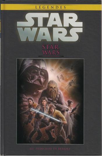 Couverture de l'album Star Wars (Collection Hachette) - 56. Star Wars - III Princesse et rebelle