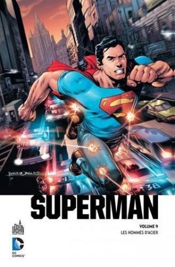 Couverture de l'album Urban Premium - 9. Superman - Les Hommes d'acier