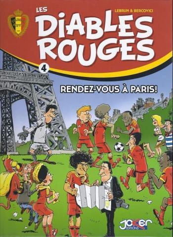 Couverture de l'album Les Diables Rouges - 4. Rendez-vous à Paris