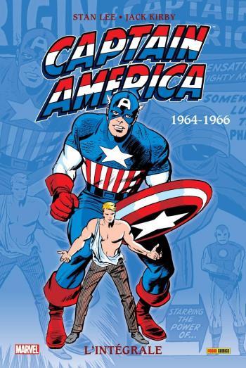 Couverture de l'album Captain America (L'Intégrale) - 1. 1964-1966
