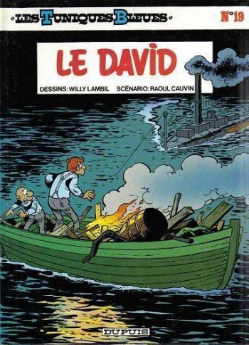 Couverture de l'album Les Tuniques bleues - 19. Le David
