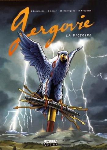 Couverture de l'album Gergovie - La victoire (One-shot)