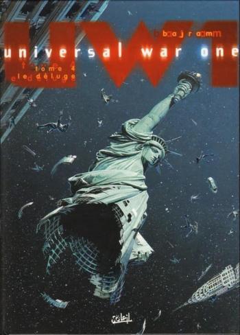 Couverture de l'album Universal War One - 4. Le Déluge