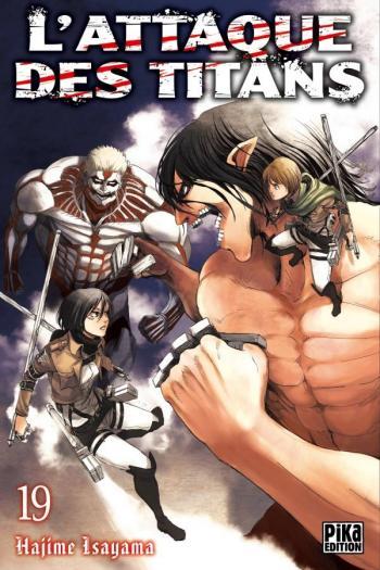 Couverture de l'album L'Attaque des Titans - 19. L'Attaque des Titans - Tome 19