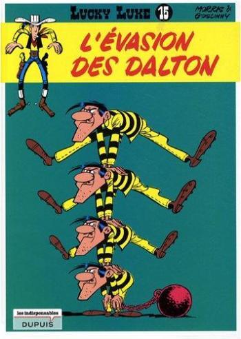 Couverture de l'album Lucky Luke - 15. L'Évasion des Dalton
