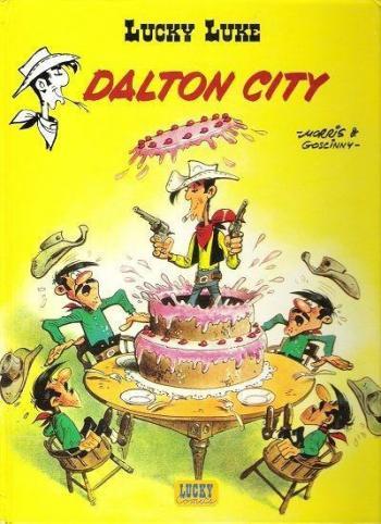 Couverture de l'album Lucky Luke - 34. Dalton City