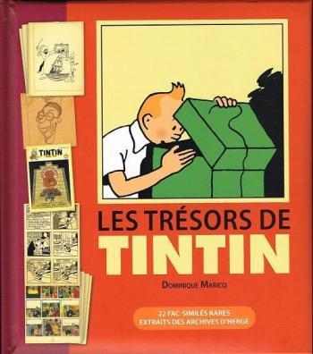 Couverture de l'album Tintin (Divers et HS) - HS. Les Trésors de Tintin