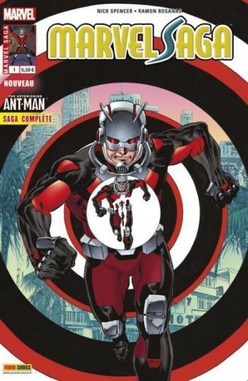 Couverture de l'album Marvel Saga (V3) - 1. Retour aux affaires