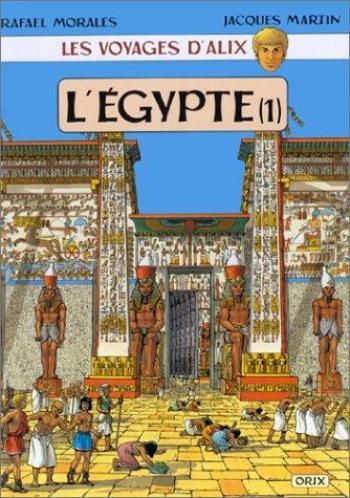 Couverture de l'album Les Voyages d'Alix - 1. L'Égypte (1)