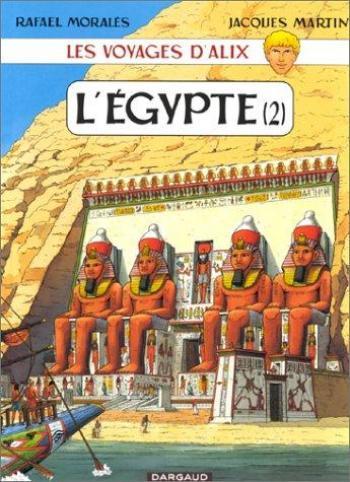 Couverture de l'album Les Voyages d'Alix - 2. L'Égypte (2)