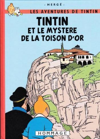 Couverture de l'album Tintin (Pastiches, parodies et pirates) - HS. Tintin et le mystère de la Toison d'Or