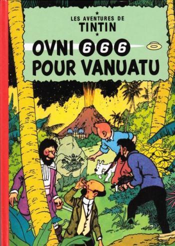 Couverture de l'album Tintin (Pastiches, parodies et pirates) - HS. OVNI 666 pour Vanuatu
