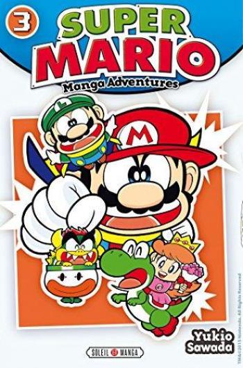 Couverture de l'album Super Mario - Manga Adventures - 3. Manga Adventures - Tome 3