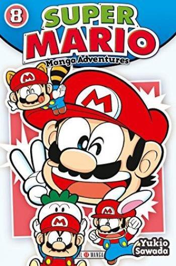 Couverture de l'album Super Mario - Manga Adventures - 8. Manga Adventures - Tome 8