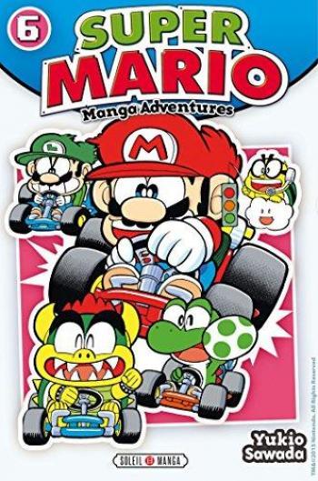 Couverture de l'album Super Mario - Manga Adventures - 6. Manga Adventures - Tome 6