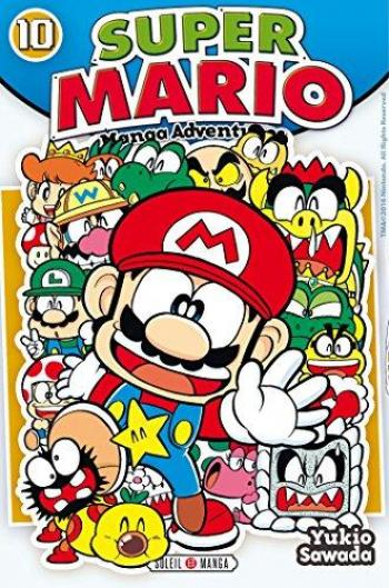 Couverture de l'album Super Mario - Manga Adventures - 10. Manga Adventures - Tome 10
