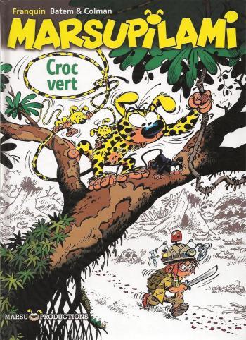 Couverture de l'album Marsupilami - 23. Croc Vert