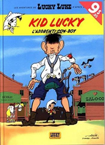 Couverture de l'album Kid Lucky - 1. L'apprenti cow-boy : Opération L'été BD 2016