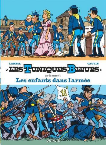 Couverture de l'album Les Tuniques bleues présentent - 6. Les Enfants dans l'armée