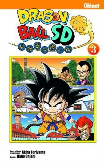 Couverture de l'album Dragon Ball SD - 3. A l'assaut de l'armée du Red Ribon !
