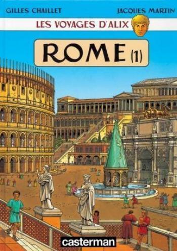 Couverture de l'album Les Voyages d'Alix - 11. Rome (1)