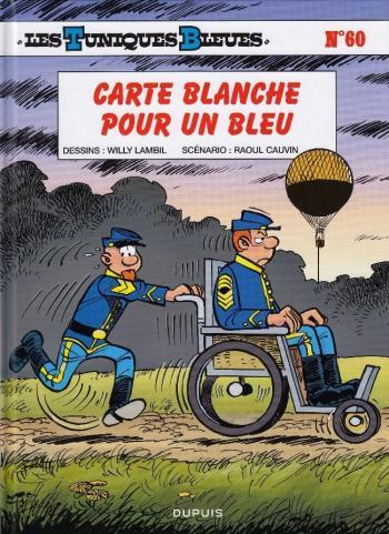 Couverture de l'album Les Tuniques bleues - 60. Carte blanche pour un bleu