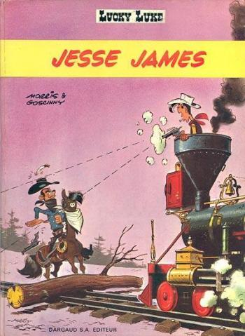 Couverture de l'album Lucky Luke - 35. Jesse James
