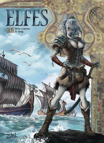 Couverture de l'album Elfes - 15. Noir comme le sang