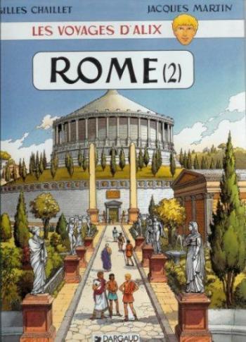 Couverture de l'album Les Voyages d'Alix - 15. Rome (2)