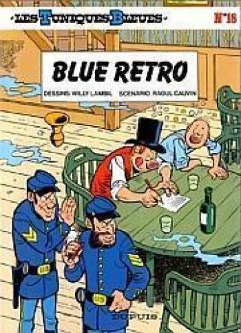 Couverture de l'album Les Tuniques bleues - 18. Blue rétro