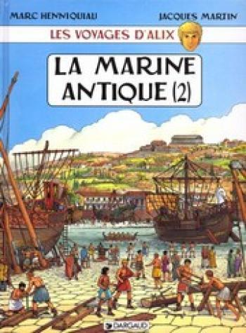 Couverture de l'album Les Voyages d'Alix - 6. La Marine antique (2)
