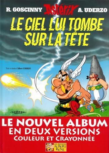 Couverture de l'album Astérix - 33. Le ciel lui tombe sur la tête