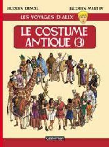 Couverture de l'album Les Voyages d'Alix - 10. Le Costume antique (3)