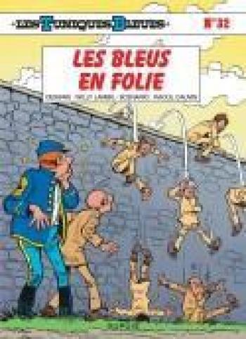 Couverture de l'album Les Tuniques bleues - 32. Les bleus en folie