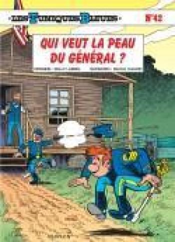 Couverture de l'album Les Tuniques bleues - 42. Qui veut la peau du général ?