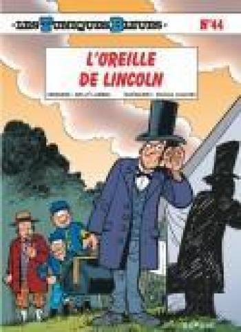 Couverture de l'album Les Tuniques bleues - 44. L'oreille de Lincoln