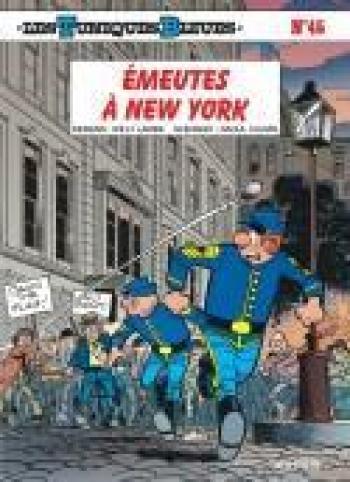 Couverture de l'album Les Tuniques bleues - 45. Emeutes à New York