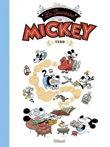Couverture de l'album La Jeunesse de Mickey (One-shot)
