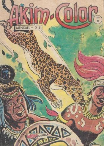 Couverture de l'album Akim - 26. Akim-Color