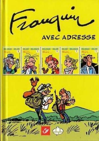 Couverture de l'album Spirou et Fantasio - HS. Franquin avec adresse