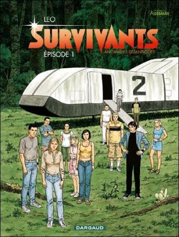 Couverture de l'album Les Mondes d'Aldébaran IV - Survivants - 1. Episode 1