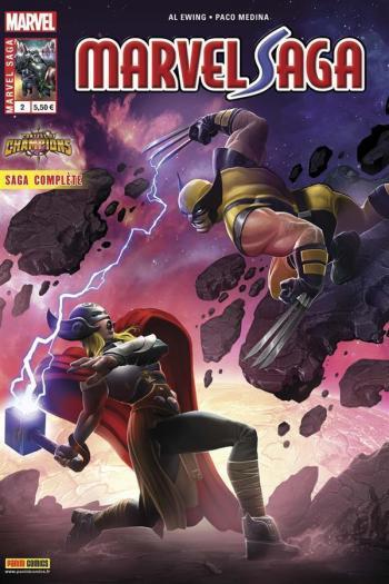 Couverture de l'album Marvel Saga (V3) - 2. Le tournoi des champions