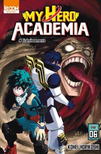 Couverture de l'album My Hero Academia - 6. Frémissements
