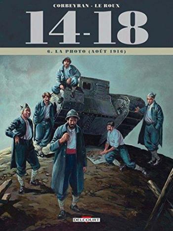 Couverture de l'album 14-18 - 6. La Photo (août 1916)